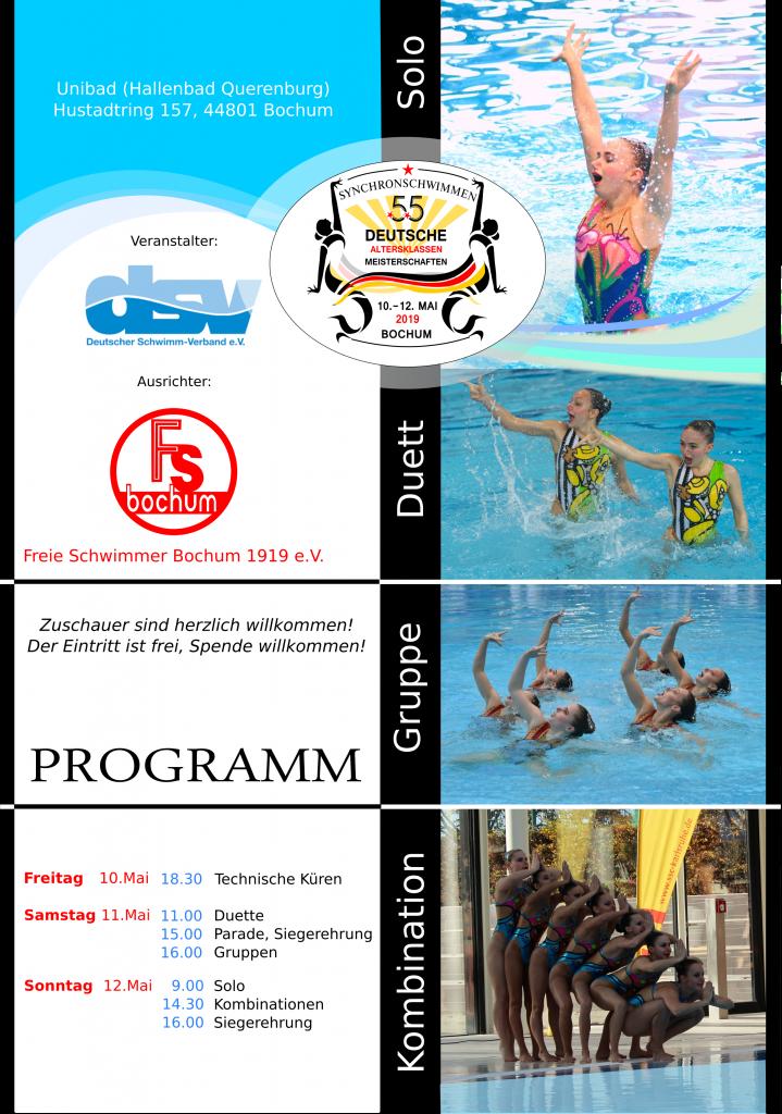 . Freie Schwimmer Bochum 1919 e V    Internetseite von unserem